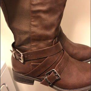 Torrid knee high wide calf boots